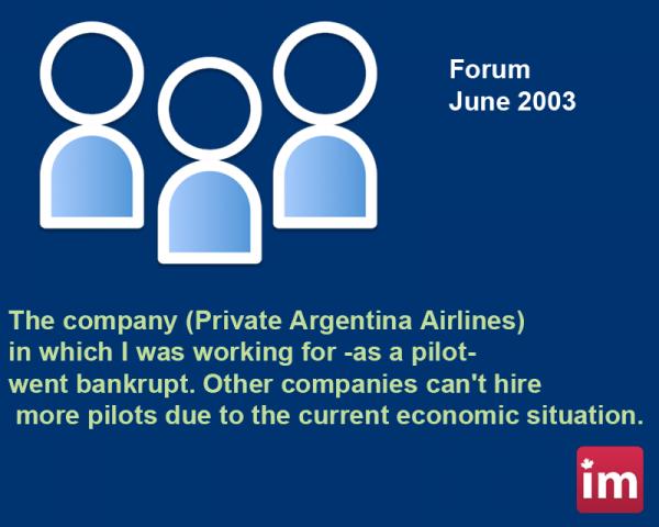 Immigrants Forum 2003