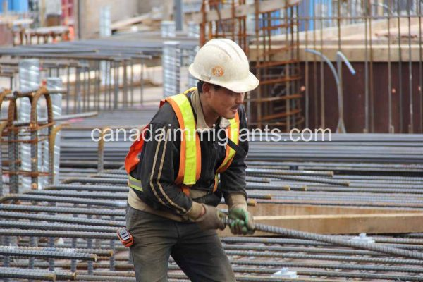 Construction worker Salary in Canada