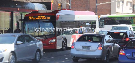 Bus driver salary in Canada