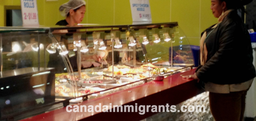 Food Counter Attendant Salary in Canada