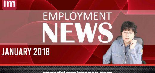Canada Employment News Jan 2018