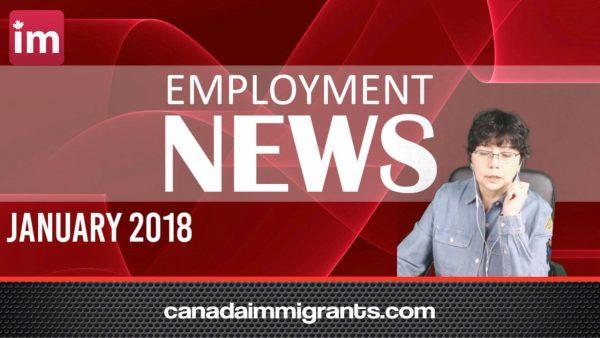 Canada Employment News January 2018